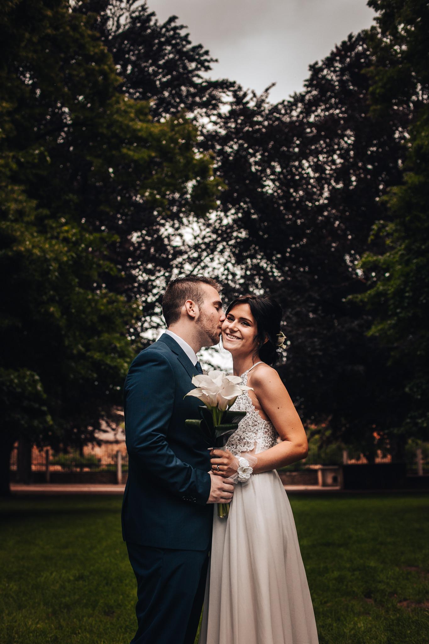 nevěsta ženich svatba