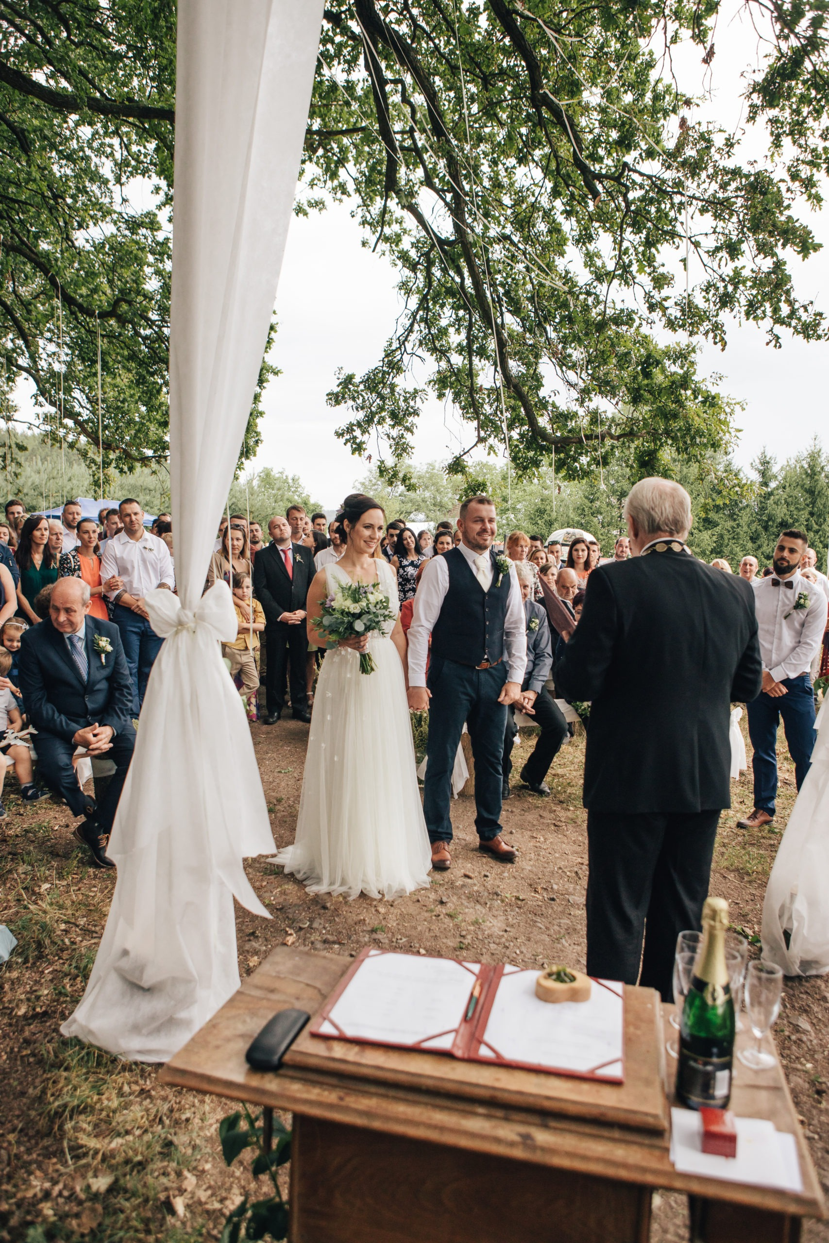 dekorace svatba jičín