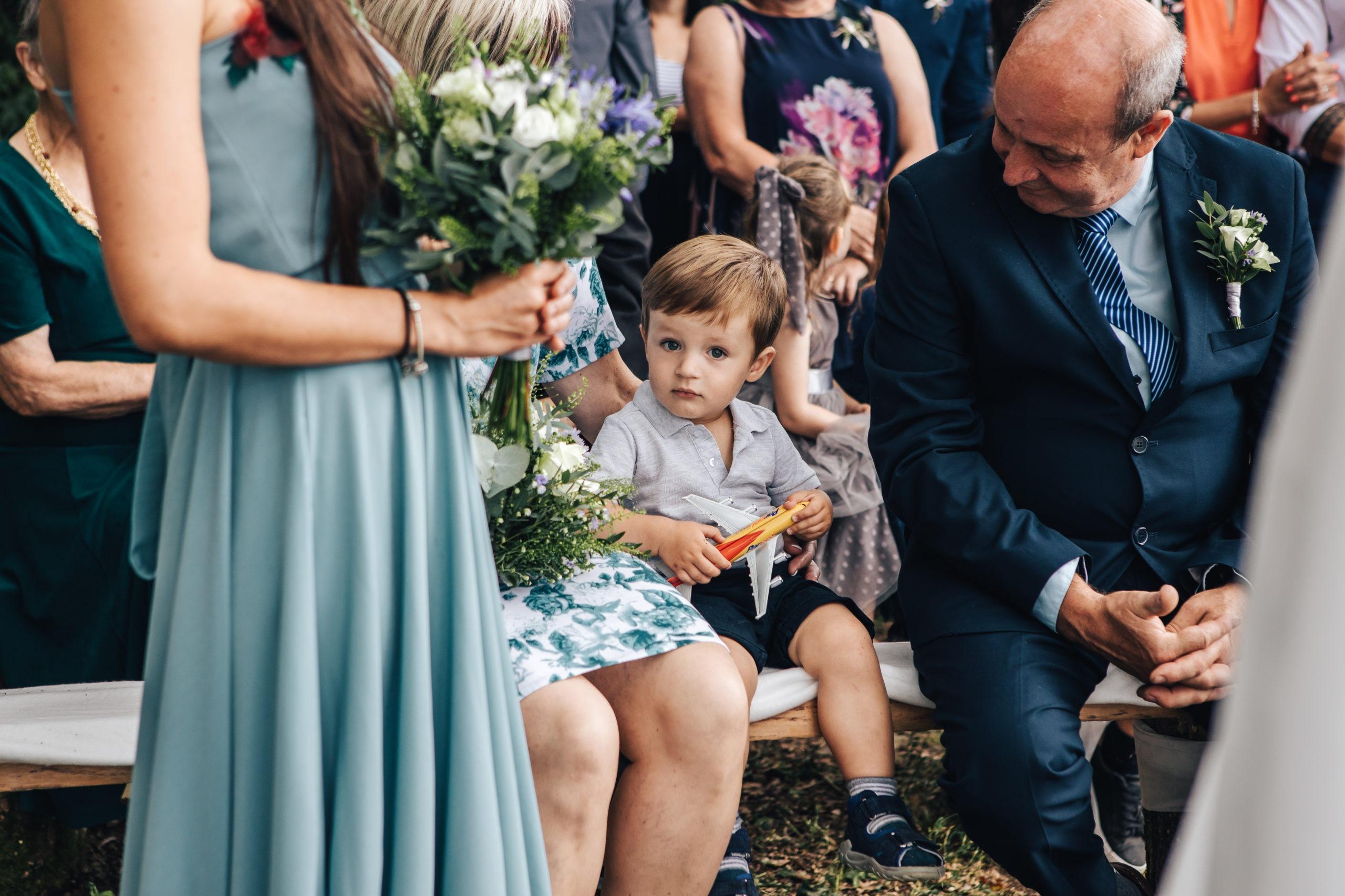 svatební kytice družičky
