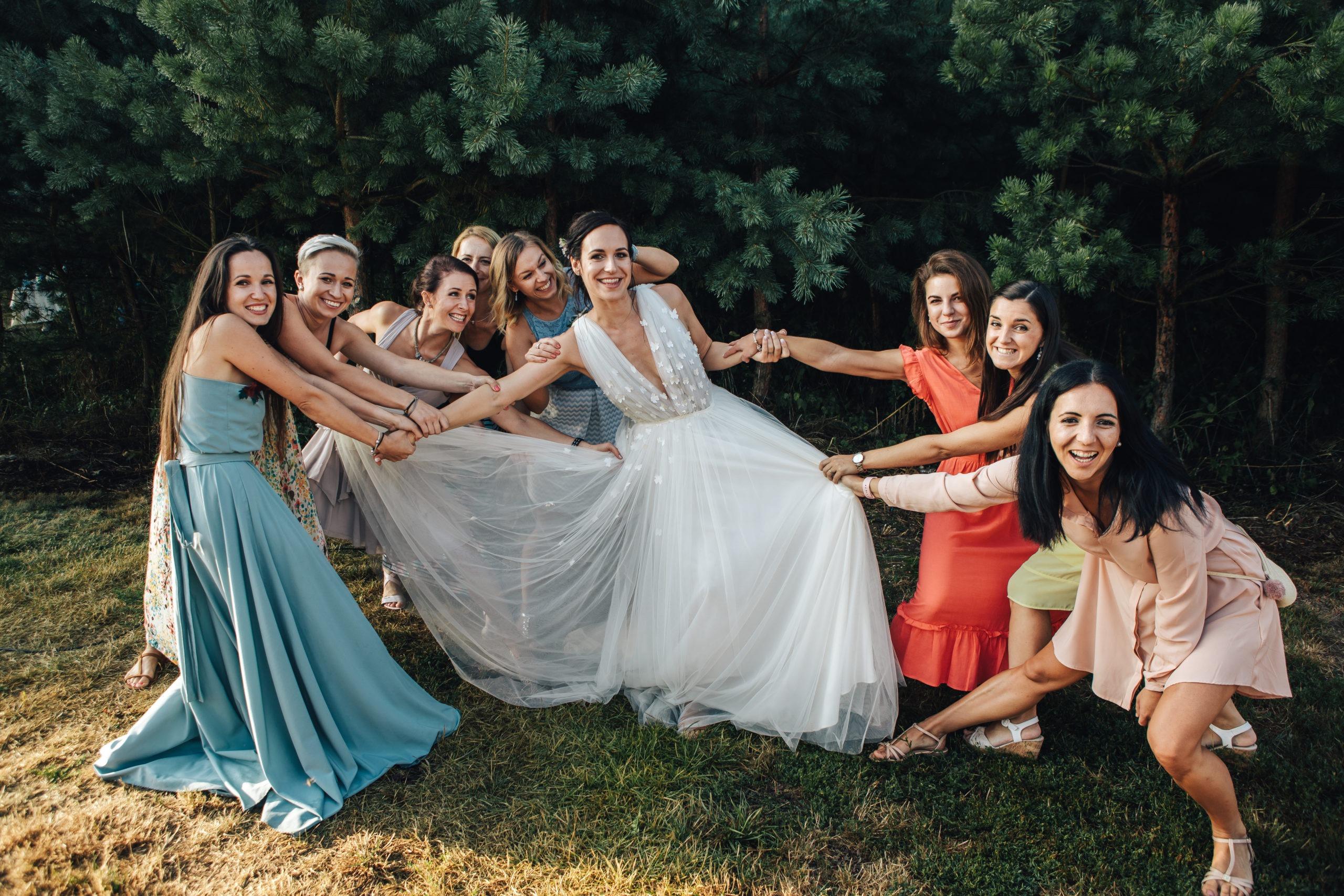 svatební družičky svatba jičín