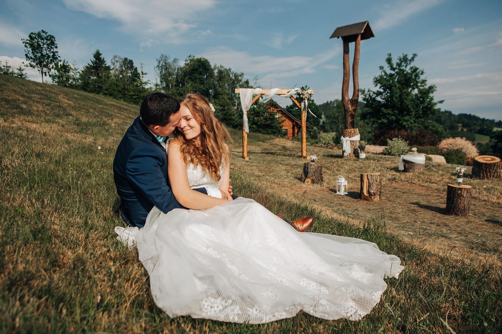 párové fotografování nevěsta ženich jičín