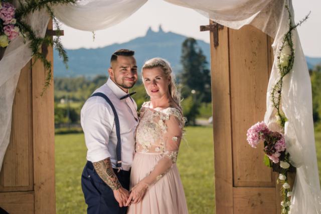 svatba trosky český ráj jičín