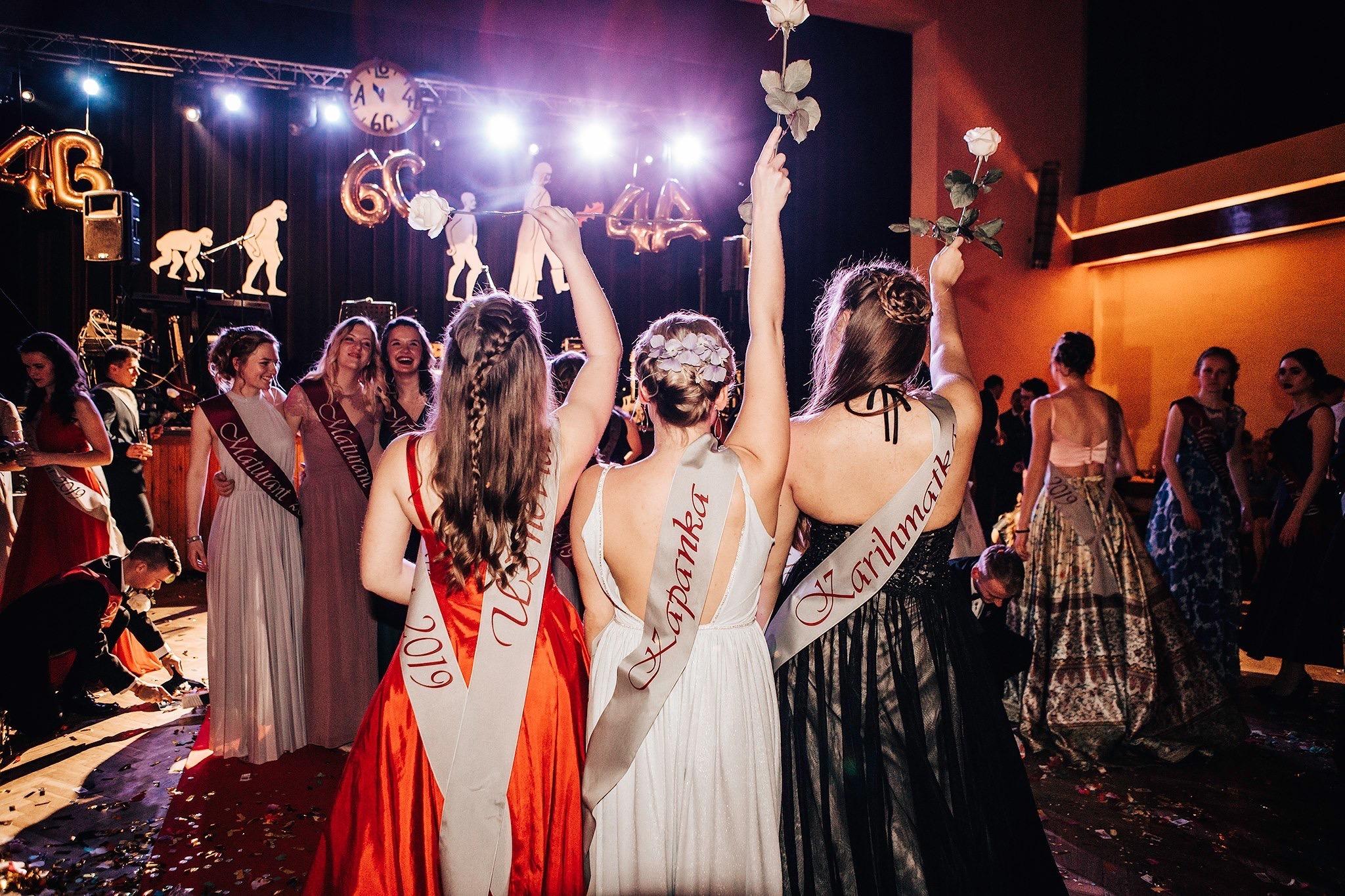 maturitní ples Valdice SPŠ