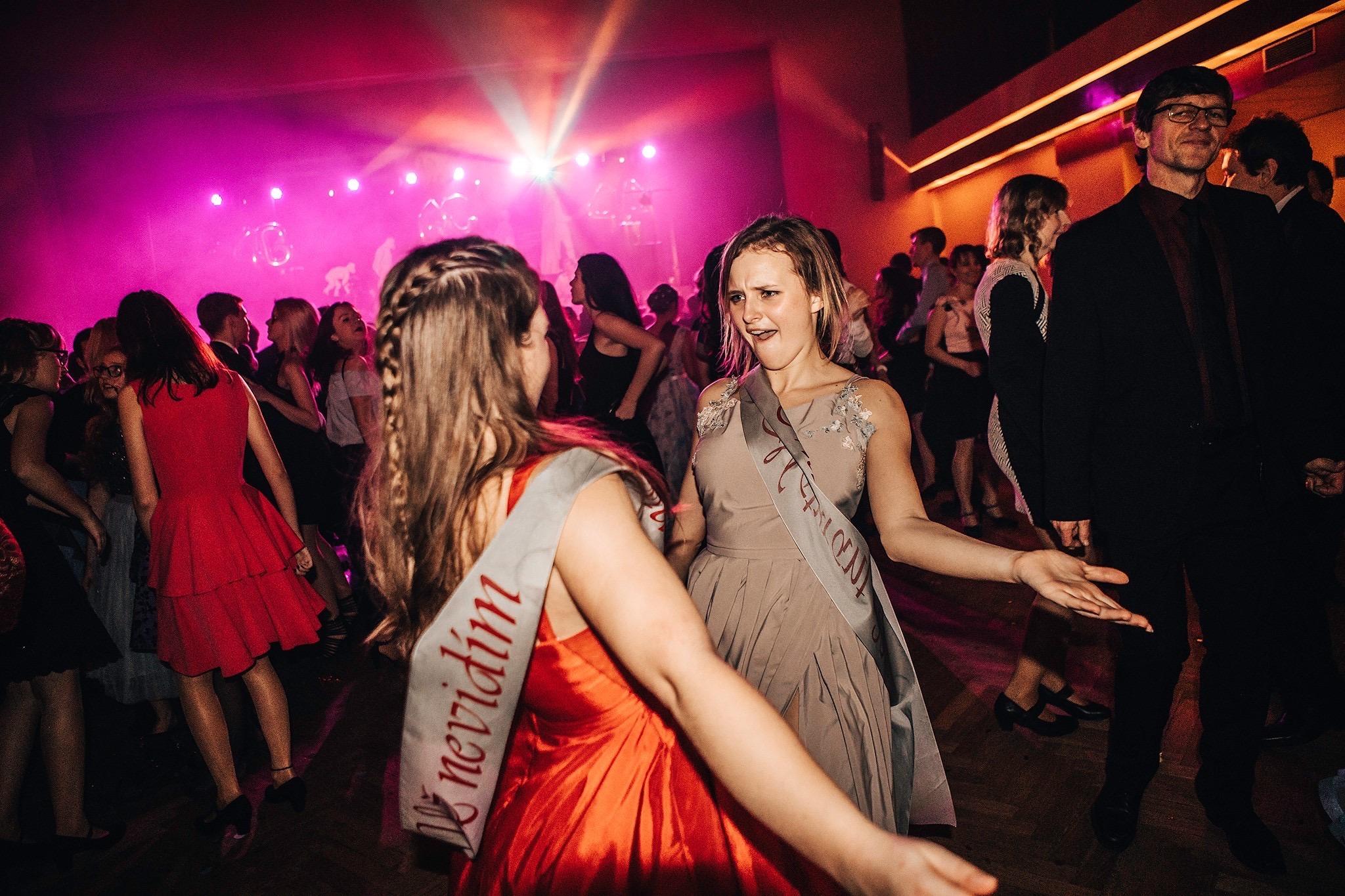 maturitní ples zábava kapela