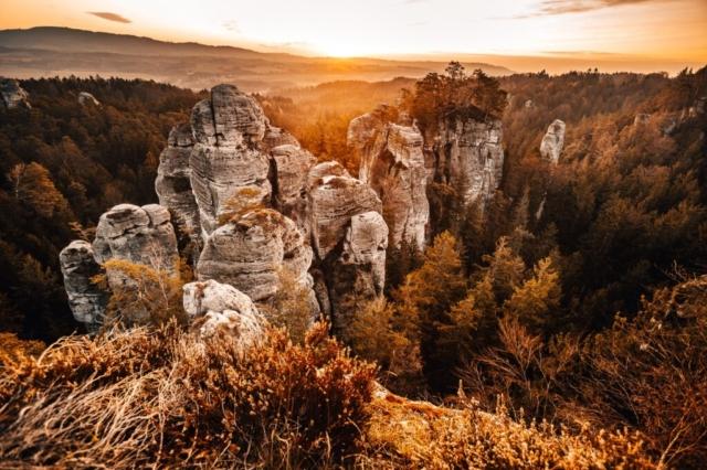 hruboskalsko český ráj podobský