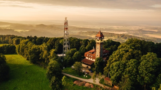 tábor český ráj dron