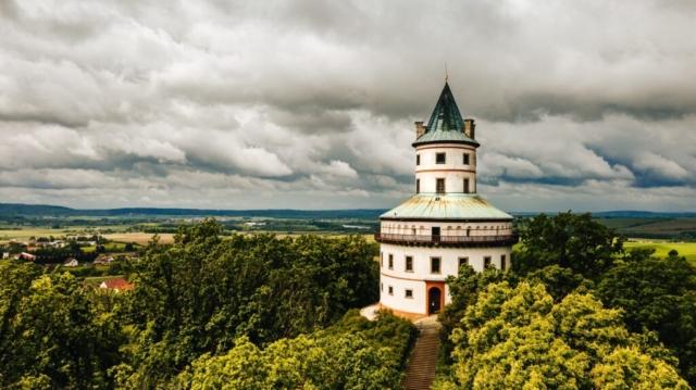 humprecht český ráj podobský dron